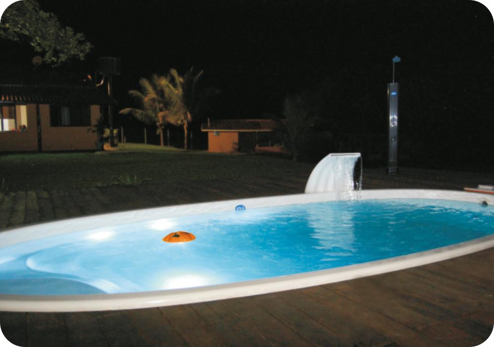 iGUiLux Float iGUi iluminação piscina led água