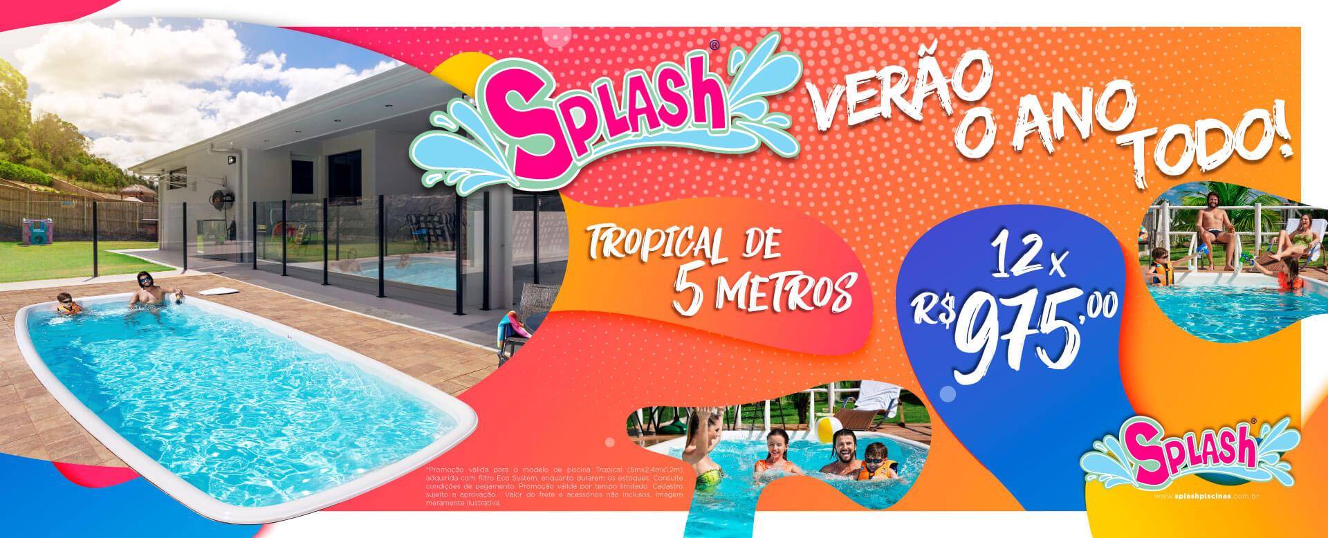 Promoção Tropical de 5 metros