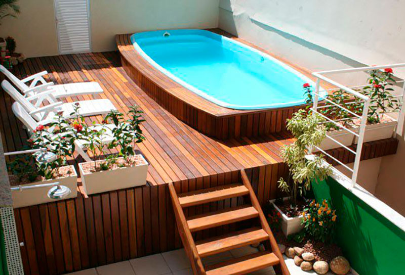 Piscina splash tropical splash piscinas for Mini piscinas para terrazas